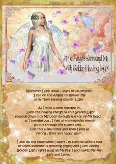angel blessings: GOLDEN HEALING LIGHT ...