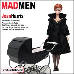 If It's Hip, It's Here: The Darker Side of Mad Men. Season 5 Parody Dolls by Michael Williams.