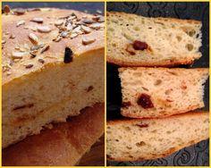 Golosando...serenamente!: Pane con pomodorini secchi: ricetta principiante