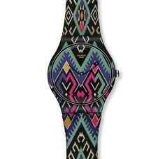 Pretty Bohemian Swatch Watch