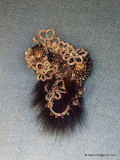 Art de Veta avec perles: Dentelle