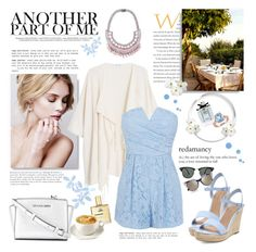 """""""No place I'd rather be"""" by kitty-kat9 ❤ liked on Polyvore featuring мода, Ray-Ban, Fendi, Gucci, MANGO, Coast, Miadora, MICHAEL Michael Kors и Tom Binns"""
