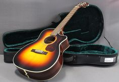 Guild Westerly Collection OM-140CE Ac/El Orchestra Model Cutaway Guitar w/Case