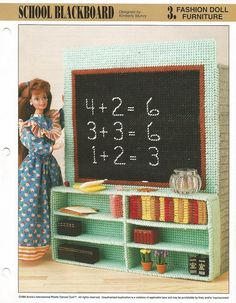 Plastic Canvas Pattern Plastic Canvas Barbie by luvinthecrafts, $4.00