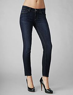 Paige Denim 'Skyline' Ankle Jeans (wash = Libby) size 27