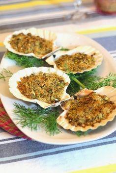 Senza Sale in Zucca: Altri due antipasti super veloci: asparagi e pancetta, capesante con finocchietto selvatico e pistacchi