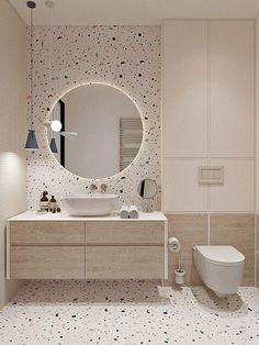 Bathroom Design Luxury, Modern Bathroom Design, Minimal Bathroom, Modern Bathrooms, Apartment Bathroom Design, Modern Bathroom Mirrors, Small Bathroom Interior, Modern Design, Shiplap Bathroom