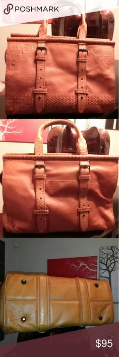 ISABELLA FIORE Vintage Leather Satchel Bag Isabella Fiore Vintage Leather bag. Cones w/ original dust bag. Excellent Condition. Like New. If u love Vintage this bag is for U!! Isabella Fiore Bags Satchels