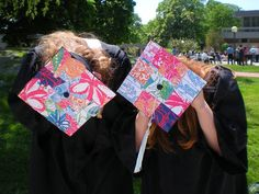 Lilly grad caps