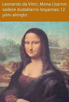 Deep Dark Fears, Mona Lisa Parody, Lisa S, Interesting Information, Did You Know, Knowledge, Drawings, Funny, Artwork
