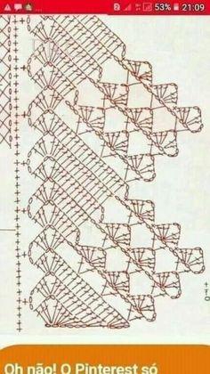 Crochet Boarders, Crochet Edging Patterns, Crochet Lace Edging, Filet Crochet, Crochet Doilies, Crochet Flowers, Crochet Table Runner Pattern, Crochet Tablecloth, Crochet Snail