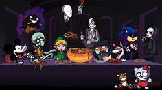 creepypasta characters wallpaper - Google Search