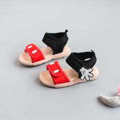 8ca431f59ffe 2018 Lovely palm baby girls summer shoes sandals for girls beach shoes for  baby girls size 15-25