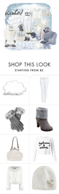 """""""Monster's Inc. Winter Snow Day"""" by jennziegirl ❤ liked on Polyvore featuring Burberry, Miss Selfridge, Jennifer Behr, Winter, winterfashion and moviecharacter"""