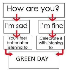 Green Day everywhere