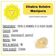 Chakra Du Plexus Solaire, Aide, Plexus Products, Gems, Crystals, Universe