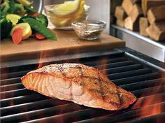 Outback Steakhouse Grilled North Atlantic Salmon Copycat Recipe - New Site Copycat Recipes Outback, Outback Steakhouse Recipes, Grilled Salmon Recipes, Fish Recipes, Seafood Recipes, Cooking Recipes, Grilled Fish, Cooking, Restaurant Recipes