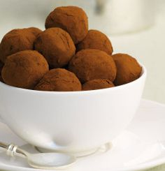 Espresso_and_Frangelico_Truffles Food Dishes, Truffles, Dog Food Recipes, Espresso, Cooking, Sweet, Espresso Coffee, Cuisine, Kitchen