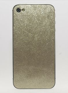 metallic leather iPhone case via Anne Louise