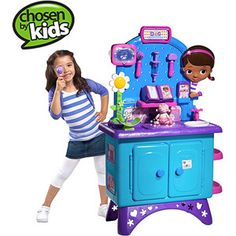 Disney Doc McStuffins Get Better Checkup Center ((Walmart just released their Annual Top Toy List... this is on it.. and the girls would love this!))