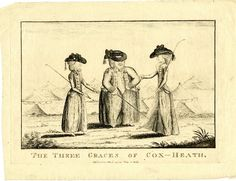 Image gallery: The three graces of Cox-Heath, 1779