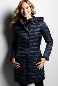 Women's Chalet Down Coat from Lands' End | long winter coats ...