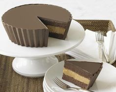 Reeses peanut butter cup CAKE?!