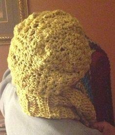 Infiniti scarf & slouchy hat on Etsy, $55.00