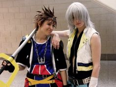 Sora and Riku by KellyJane.deviantart.com on @deviantART