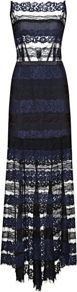 Love this: Paneled Lace Gown NINA RICCI dressmesweeetiedarling