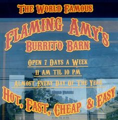 Flaming Amy's, Wilmington