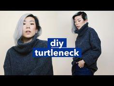 DIY Turtleneck!   WITHWENDY - YouTube