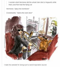 Draco in the back just makes this post.