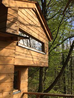 Dormir dans les arbres! Les cabanes en Lorraine!