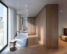 HFZ Capital Group and David Chipperfield Architects have launched sales for The Bryant residences in New York City. The Bryant is the first large-scale residential project in New York designed by the internationally-acclaimed British practice and newly Architecture Wallpaper, Interior Architecture, Interior Design, Architecture Panel, Drawing Architecture, Architecture Portfolio, Design Interiors, Bathroom Spa, Bathroom Interior