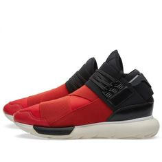Y-3 Qasa High (Royal Red & Black)