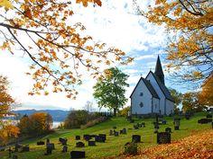 Byneset church, Norway