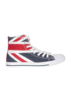 Union Jack Hi Top Sneaker - View All Shoes - Shoes - dELiA*s