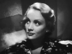 Just Marlene Dietrich being gorgeous. - Imgur