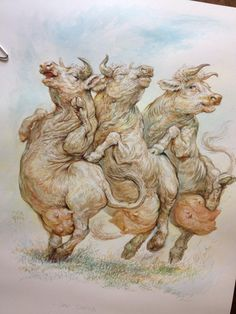Omar Rayyan. Cow Conga