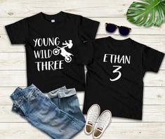 Birthday Girl T Shirt, Third Birthday, Birthday Shirts, Birthday Ideas, Dirt Bike Shirts, Motocross T Shirts, Triumph Motorcycles, Ducati, Mopar
