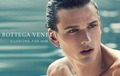 Simon Nessman is the Face of Bottega Veneta Illusione for Him
