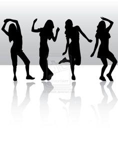 Tumblr+People+Dancing   Dancing silhouette by Amitielik on deviantART