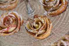 Catholic Cuisine: Heavenly Garden Apple Rose Pastries