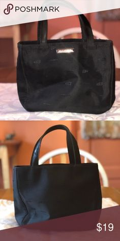 1713e756a306 ... Black Pocketbook Evan Picone Pocketbook – Black This pocketbook is in  excellent condition. The letters EP are sewn in all around the outside of  the bag.
