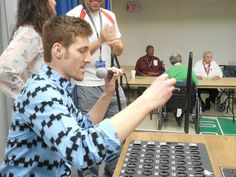 Students from Grand Rapids Community College's TRiO/Student Support Services, Campus Activities Board and Student Alliance spent a fantastic evening playing bingo with residents of the Grand Rapids Home for Veterans.