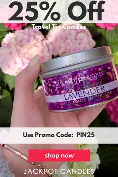 100% Natural Soy, clean burning, handmade Jewelry Candles & Bath Bombs, Made in the USA!  These candles burn for over 80 hours!  We at Jackpot candles want you to have the most enjoyable and safe candle burning experience. We have a ton of cool scents and colors to choose from to match your perfect mood and personality!  Use code: PIN25 to get 25% off your purchase today!  Candles, relaxation, candles decor, dyi candles, home decor, decorative candles, candles decoration for home, best candles
