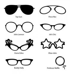 Style with Cool Glasses frame, gehehe ^_^