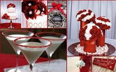 red and white wedding - Bing Images