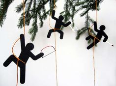 Undercover Ninja Decorations - The Hooligans Christmas Ornament is for Spy Kids (GALLERY)